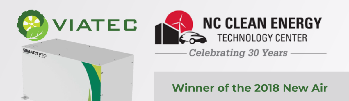 Viatec Awarded NC Clean Energy Air Quality Improvement Grant