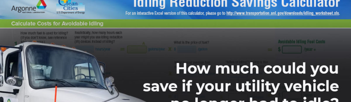The Idling Calculator. How much can you save?