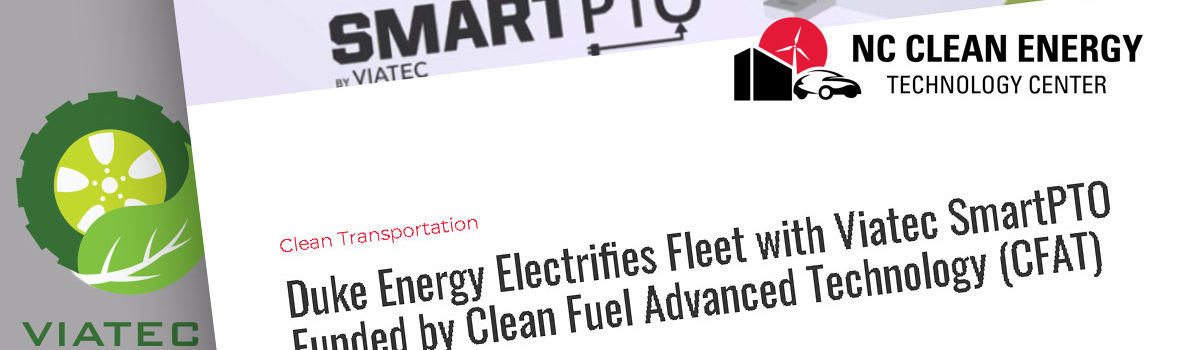 NCCETC Announces Duke Energy Adopting SmartPTO via CFAT